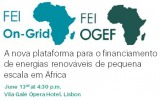 Facility for Energy Inclusion: A nova plataforma para o financiamento de energias renováveis de pequena escala em África