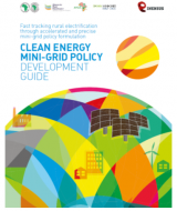 Clean Energy Mini-Grid Policy Development Guide