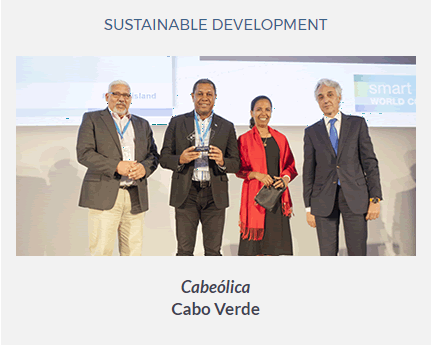Cabeólica wins Renewable Energy Award at Smart Islands World Congress