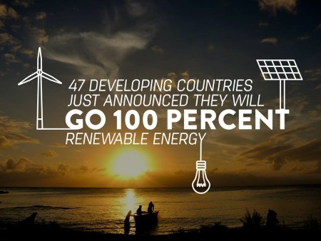 East Timor is one of the countries which vows to use 100% renewable energy by 2050