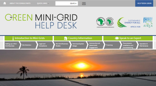 AfDB launches a Green Mini-Grid Help Desk to support project developers deliver energy access in rural areas