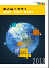 REN21 publishes its Renewables 2018 Global Status Report