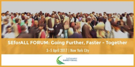 SE4ALL FORUM: GOING FURTHER, FASTER – TOGETHER